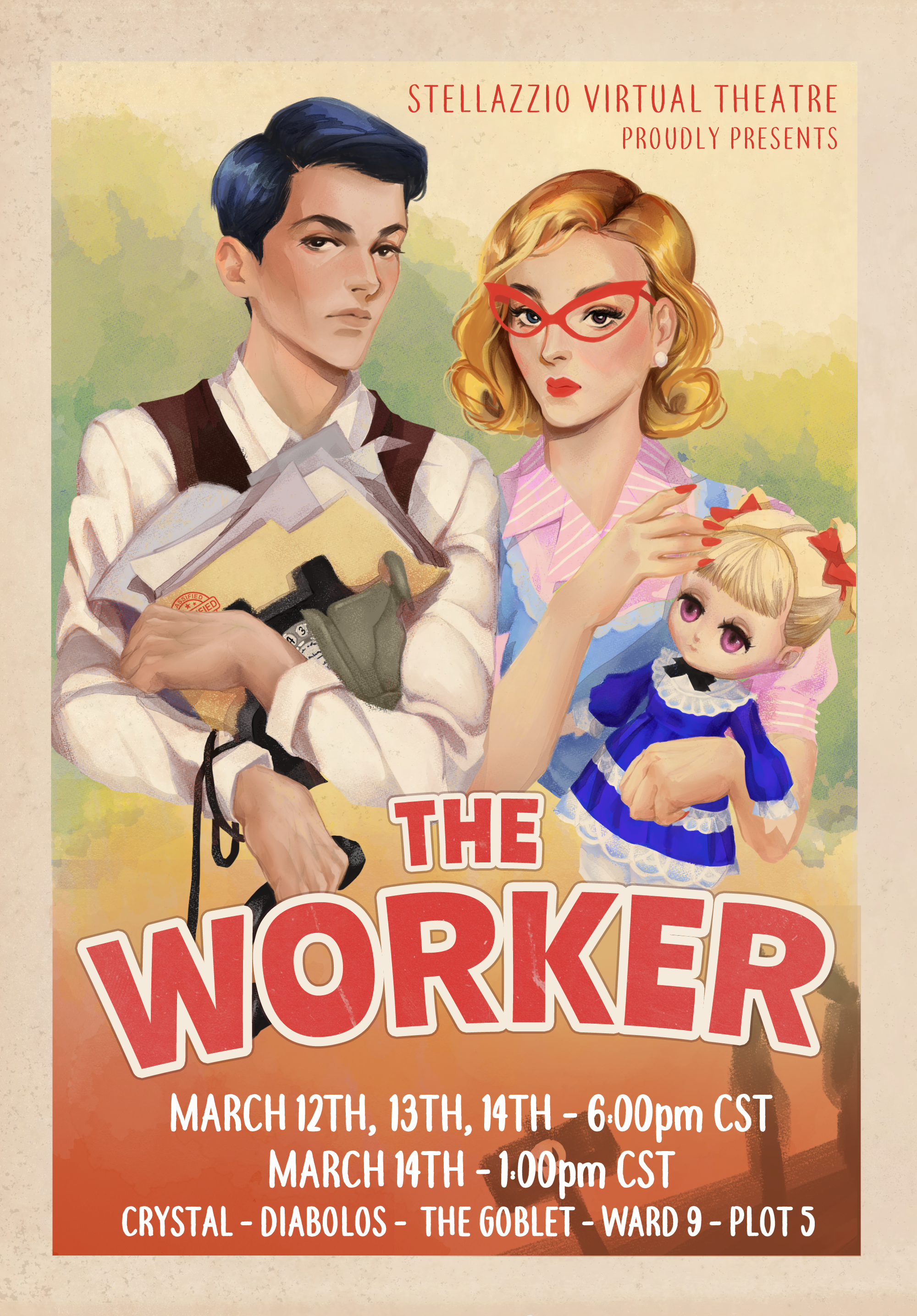 The Worker announcement poster